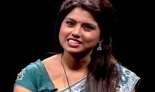 VID-20140209-PV0003-Chennai (IT) Tamil 25 yrs old unmarried beautiful and hot TV anchor Ms. Girija Sree (FM size # 38B-30-34) speaking sexily with sexologist to 29 yrs old Mettuppalayam Ravi in Captian TV &lsquo_Andharangam&rsquo_ show sex video-3