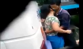 desi latitudinarian and boy sex in bus terminal Caught on spy cam