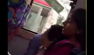 Bangladeshi bf and gf in local Bus