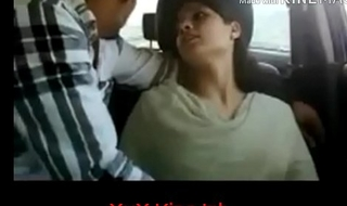 Indian Shy Girls In the Motor car and See What Happenss!
